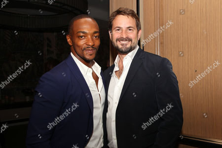 Anthony Mackie and Mark Boal (Writer, Producer)