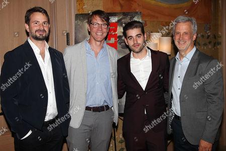 Mark Boal (Writer, Producer), Hugo Lindgren (Exec. Prod), Matthew Budman (Producer) and William Goldenberg (Film Editor)