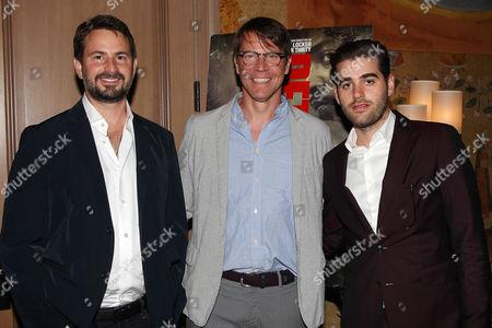 Mark Boal (Writer, Producer), Hugo Lindgren (Exec. Prod) and Matthew Budman (Producer)