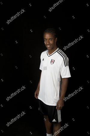 Editorial image of Fulham Football Club, Official Player Portraits, Motspur Park Training Ground, London, UK - 01 Aug 2017