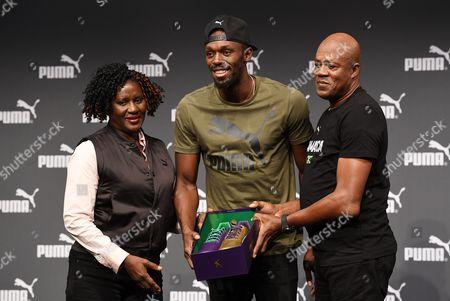 Jennifer Bolt, Usain Bolt and Wellesley Bolt