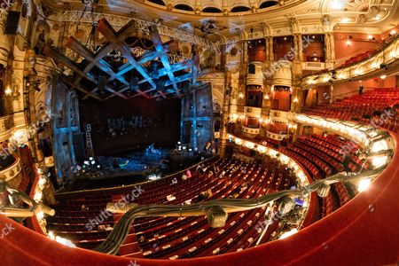 Editorial image of The London Coliseum theatre, London, UK - 28 Jul 2017