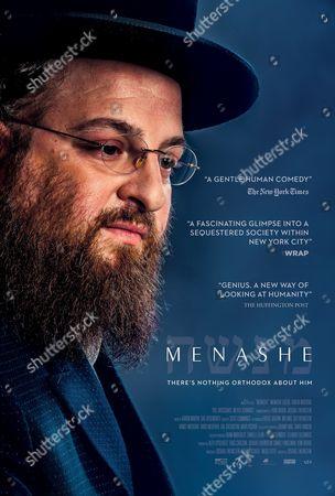 Stock Photo of Menashe (2017) Poster Art. Menashe Lustig