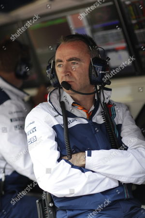 Stock Photo of Paddy Lowe (GBR, Williams Martini Racing)