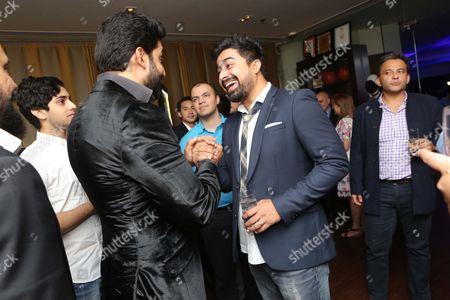Bollywood actors Rannvijay Singha and Abhishek Bachchan