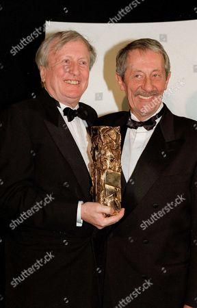 Claude Riche and Jean Rochefort, Cesar Awards, Paris, France