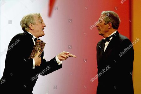 Claude Rich and Jean Rochefort, Honorary Cesar, Paris, France