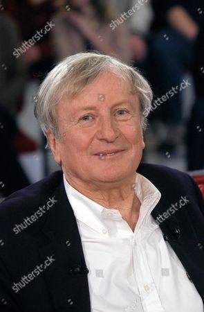 Claude Rich during filming of Vivement Dimanche, Paris, France