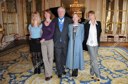 Claude Rich Legion of Honour award, Paris, France