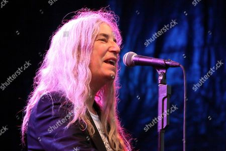 Editorial picture of Patti Smith at the concert at Burg Herzberg Festival, Breitenbach, Germany - 30 Jul 2017