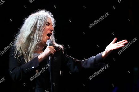 Editorial photo of Patti Smith at the concert at Burg Herzberg Festival, Breitenbach, Germany - 30 Jul 2017