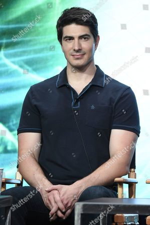 """Brandon Routh participates in the """"DC's Legends of Tomorrow"""" panel during The CW portion of the 2017 Summer TCA's at the Beverly Hilton Hotel, in Beverly Hills, Calif"""