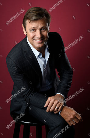 "Grant Show, a cast member in the CW series ""Dynasty,"" poses for a portrait during the 2017 Television Critics Association Summer Press Tour at the Beverly Hilton, in Beverly Hills, Calif"