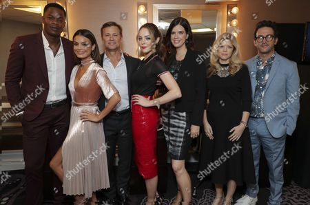 Sam Adegoke, Nathalie Kelley, Grant Show, Elizabeth Gillies, Sallie Patrick, Executive Producer, Stephanie Savage, Executive Producer, Josh Schwartz, Executive Producer