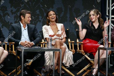 Grant Show, Nathalie Kelley, Elizabeth Gillies