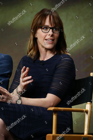 Editorial image of The CW 'Valor' panel, TCA Summer Press Tour at The Beverly Hilton in Beverly Hills, Los Angeles, USA - 02 Aug 2017