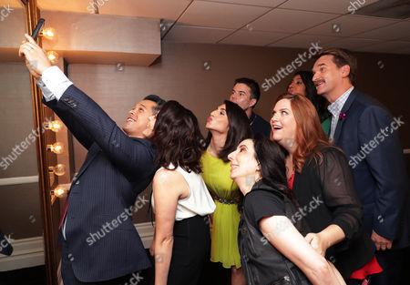 Vincent Rodriguez III, Rachel Bloom, Gabrielle Ruiz, Aline Brosh McKenna, Executive Producer, Showrunner, Donna Lynne Champlin, David Hull, Pete Gardner, Vella Lovell