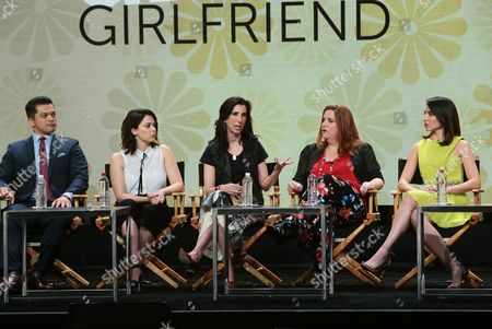 Vincent Rodriguez III, Rachel Bloom, Executive Producer, Aline Brosh McKenna, Executive Producer, Showrunner, Donna Lynne Champlin, Gabrielle Ruiz