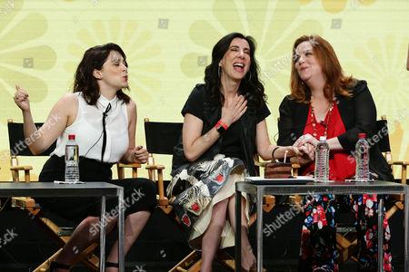 Rachel Bloom, Executive Producer, Aline Brosh McKenna, Executive Producer, Showrunner, Donna Lynne Champlin