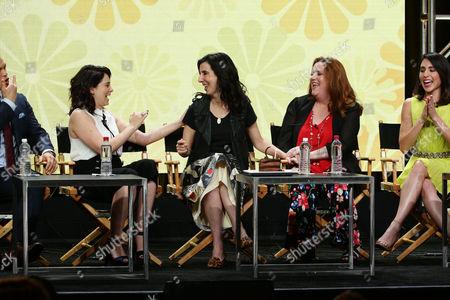 Rachel Bloom, Executive Producer, Aline Brosh McKenna, Executive Producer, Showrunner, Donna Lynne Champlin, Gabrielle Ruiz