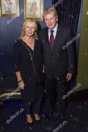 Stock Photo of Sheila Hodgson and Roy Hodgson