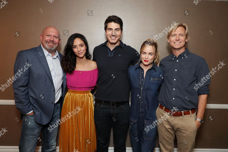 Stock Picture of Marc Guggenheim, Executive Producer, Tala Ashe, Brandon Routh, Caity Lotz, Phil Klemmer, Executive Producer
