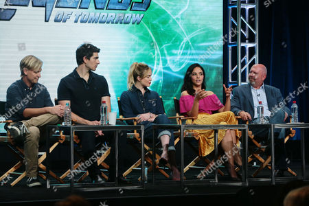 Editorial image of The CW 'DC's Legends of Tomorrow' panel, TCA Summer Press Tour at The Beverly Hilton in Beverly Hills, CA, Los Angeles, USA - 02 Aug 2017
