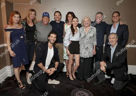 Stephanie Niznik, Emily VanCamp, John Beasley, Justin Baldoni, Gregory Smith, Rina Mimoun, Executive Producer, Vivien Cardone, Debra Mooney, Treat Williams, Greg Berlanti, Executive Producer, Tom Amandes