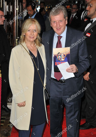 Stock Picture of Sheila Hodgson and Roy Hodgson