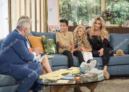Eamonn Holmes, Ruth Langsford, Katie Price, Princess Tiaamii and Junior Andre