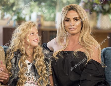 Princess Tiaamii and Katie Price