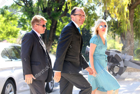 Editorial picture of United Nations Special Adviser Espen Barth Eide meeting with Cyprus President, Nicosia - 03 Aug 2017
