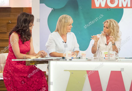Andrea McLean, Linda Robson Lucy Taggart