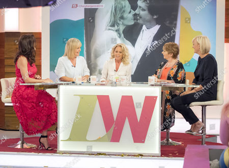 Andrea McLean, Linda Robson Lucy Taggart, Anne Diamond and Jane Moore