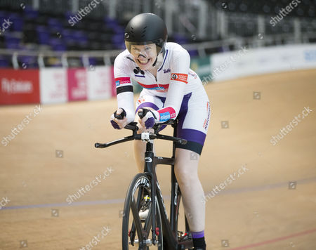 Editorial photo of Cycling at the Velodrome, Glasgow, Scotland, UK - 02 Jul 2017