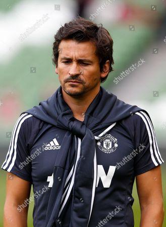 Manchester United assistant coach Rui Faria