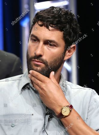 """Stock Image of Noah Mills participates in the """"The Brave"""" panel during the NBC Television Critics Association Summer Press Tour at The Beverly Hilton, in Beverly Hills, Calif"""