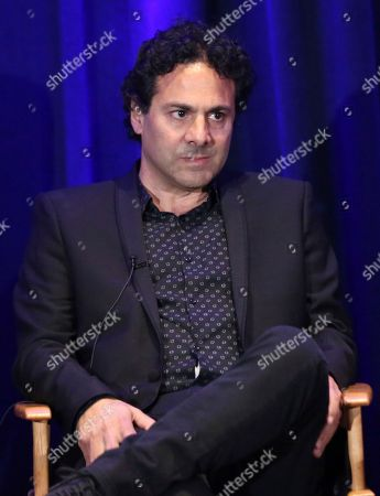 """Stock Picture of Creator/executives producer Gabe Sachs participate in """"The Night Shift"""" panel during the NBC Television Critics Association Summer Press Tour at the Beverly Hilton, in Beverly Hills, Calif"""