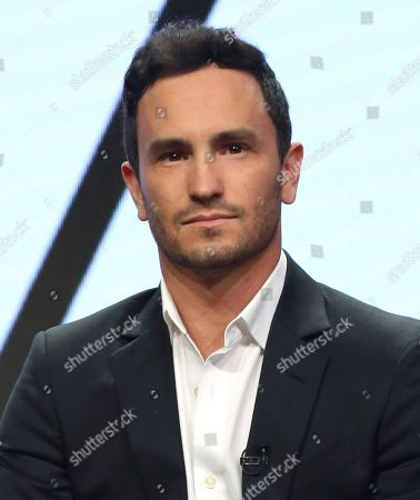 "Jeremy Bloom participates in the ""Steve"" panel during the CNBC Television Critics Association Summer Press Tour at the Beverly Hilton, in Beverly Hills, Calif"