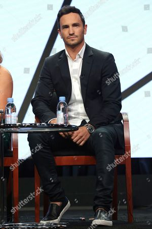 """Jeremy Bloom participates in the """"Steve"""" panel during the CNBC Television Critics Association Summer Press Tour at the Beverly Hilton, in Beverly Hills, Calif"""