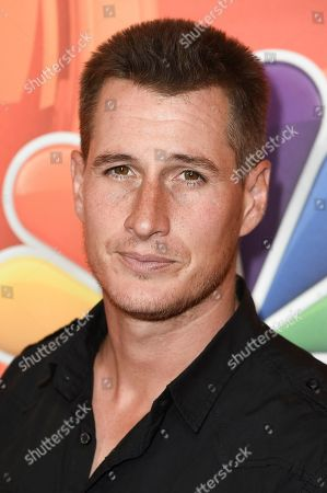 Stock Picture of Brendan Fehr attends the NBC Television Critics Association 2017 Summer Press Tour at the Beverly Hilton Hotel, in Beverly Hills, Calif