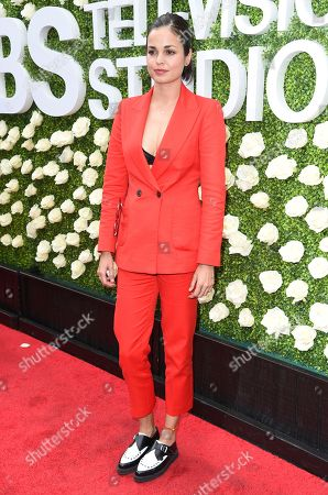 Lina Esco attends the CBS Summer Soiree during the 2017 Summer TCA's at CBS Radford Studios, in Los Angeles