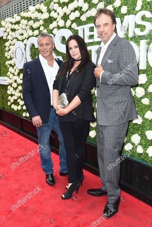 Stock Picture of Matt LeBlanc, Liza Snyder, Kevin Nealon Matt LeBlanc, from left, Liza Snyder and Kevin Nealon attend the CBS Summer Soiree during the 2017 Summer TCA's at CBS Radford Studios, in Los Angeles