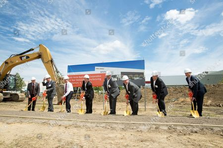 Editorial picture of BSH Home Appliance Factory Expansion, New Bern, USA - 03 Aug 2017
