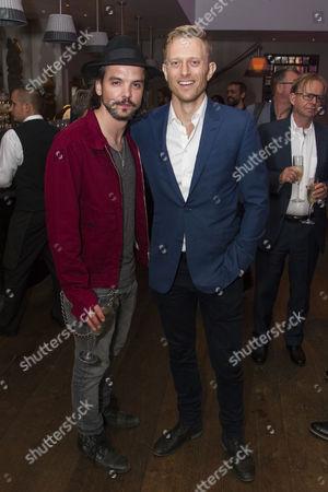 Andrew-Lee Potts and Neil Jackson