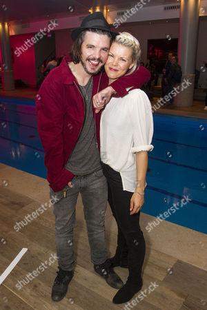 Andrew-Lee Potts and Sarah-Jane Potts