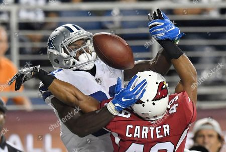 Editorial picture of Cowboys Cardinals Football, Canton, USA - 03 Aug 2017