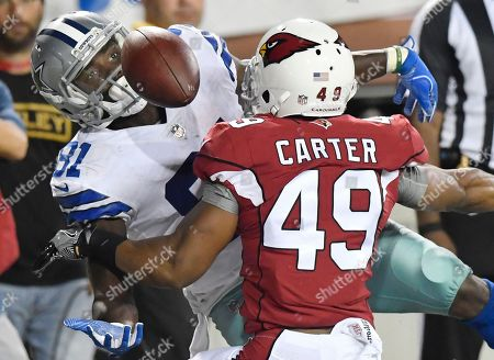 Editorial image of Cowboys Cardinals Football, Canton, USA - 03 Aug 2017