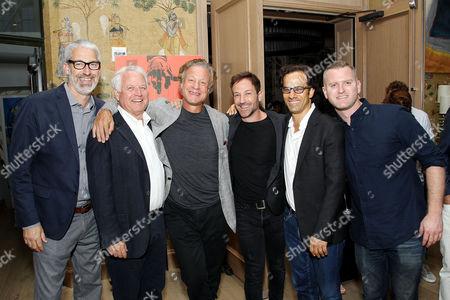 Stock Image of Mark Monroe, Jim Swartz (Producer), David Flalkow (Producer), Bryan Fogel (Director/Writer), Dan Cogan (Producer), Jon Bertain (Editor)