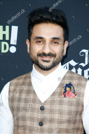 "Vir Das poses at Kevin Hart's ""Laugh Out Loud"" new streaming video network launch event at the Goldstein Residence, in Beverly Hills, Calif"